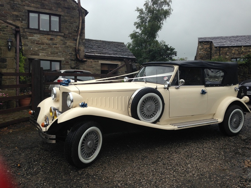 Ivory Beauford Wedding Car Open Top